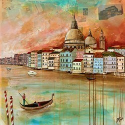 Venice, the Floating City by Keith Athay -  sized 24x24 inches. Available from Whitewall Galleries